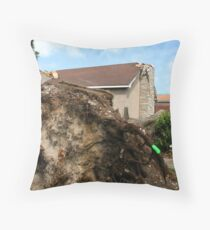 Sunday 2011 08 21 Goderich, Ontario Canada Tornado Aftermath category F3 damage town 6693 Throw Pillow