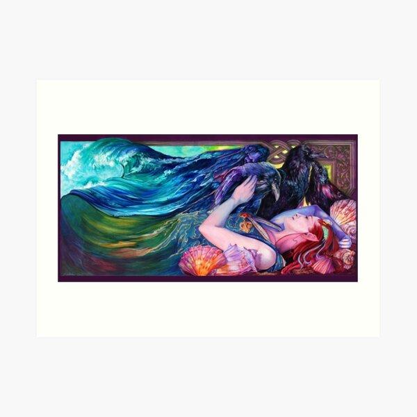 "Arctic Sleep Cover - ""Kindred Spirits"" Art Print"