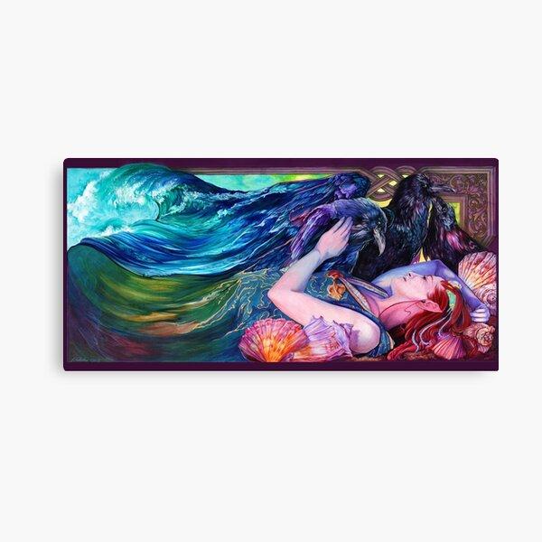 "Arctic Sleep Cover - ""Kindred Spirits"" Canvas Print"
