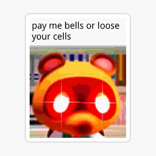 Animal Crossing Memes Stickers Redbubble
