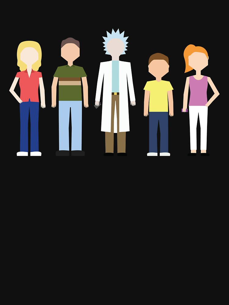 Rick & Morty: The Smith Family by mawalie