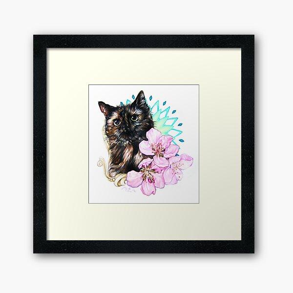 Orchids and Moonshine Framed Art Print