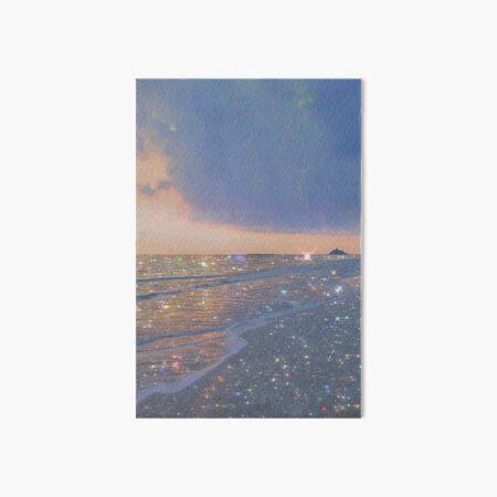 sparkly ocean vintage aesthetic Art Board Print