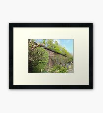Jersey City, New Jersey, Sixth Street Embankment,  Brunswick Community Garden  Framed Print