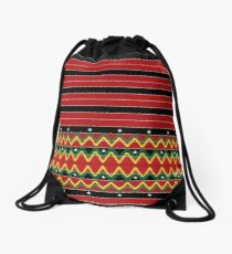 A pattern from the philippines Drawstring Bag