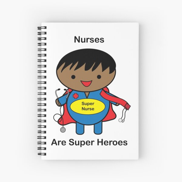 Nurse Male African American Black Spiral Notebook