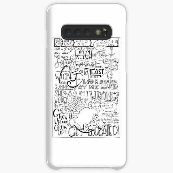 The Wicked Witch of the East Bro Hand Lettered Samsung Galaxy Snap Case