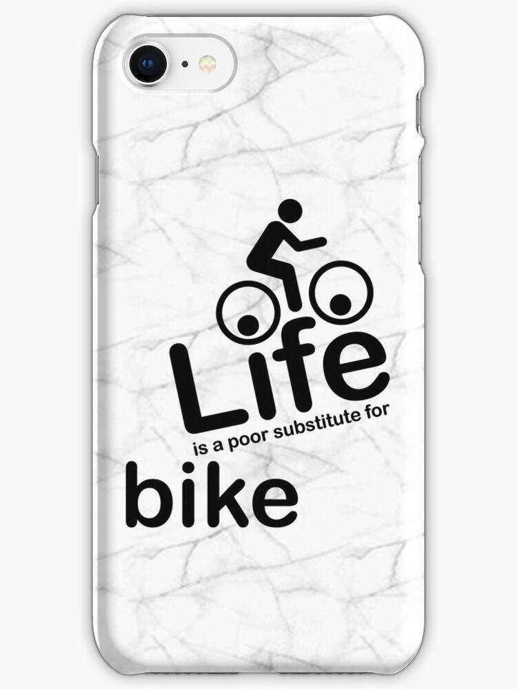 Bike v Life - Marble by Ron Marton
