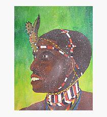 samburu warrior Photographic Print