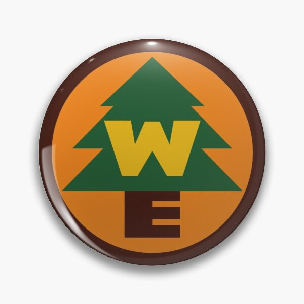 Russell's Wilderness Explorer's Badge Pin