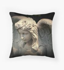 An Angel to Watch Over Me Throw Pillow