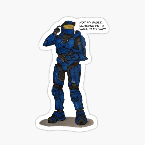 Caboose - Not my fault Sticker