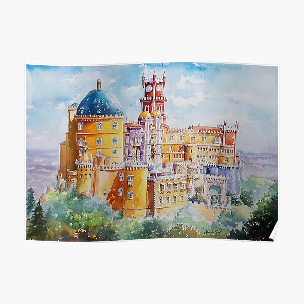 Palacio da Pena Sintra Poster