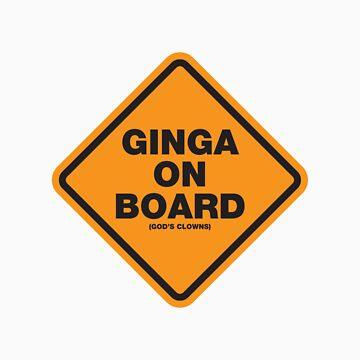 Ginga on board. by jndesigns