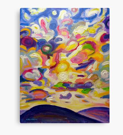 Okanagan Sky Canvas Print