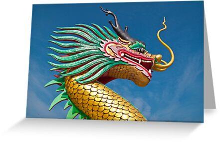 china dragon head by goodmaker