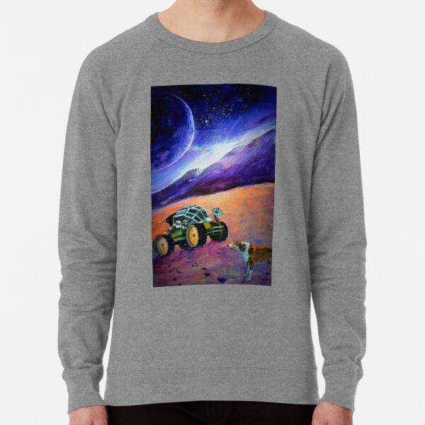 'Pawprints in the Aeolian Dust' Lightweight Sweatshirt