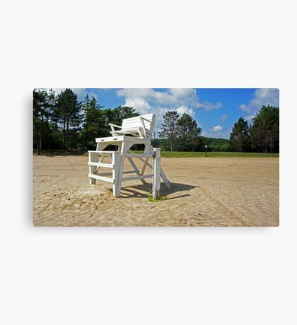 Lifeguard Stand Canvas Print