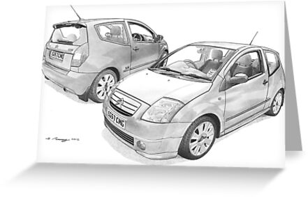 Citroen C2 VTS by Steve Pearcy