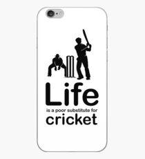 Cricket v Life - White iPhone Case