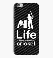 Cricket v Life - Carbon Fibre Finish iPhone Case