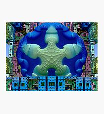 M3D: Stay Puft Takes a High Dive  (UF0592) Photographic Print