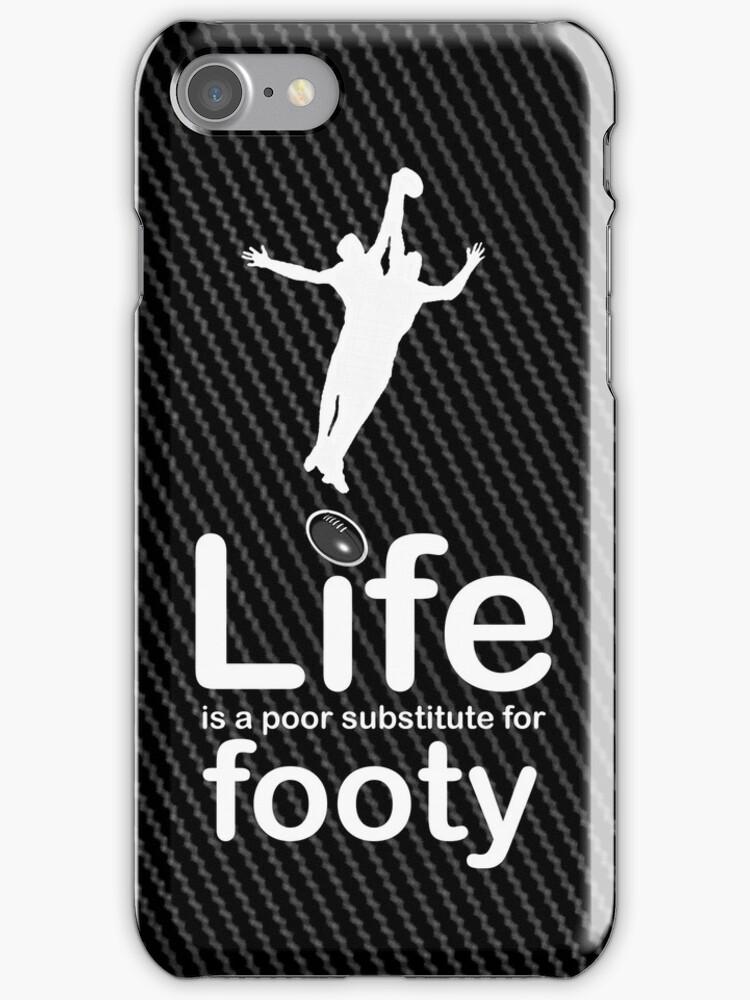 AFL v Life - Carbon Fibre Finish by Ron Marton
