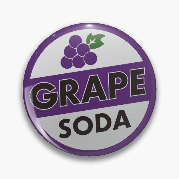 Up - Grape Soda Badge Pin