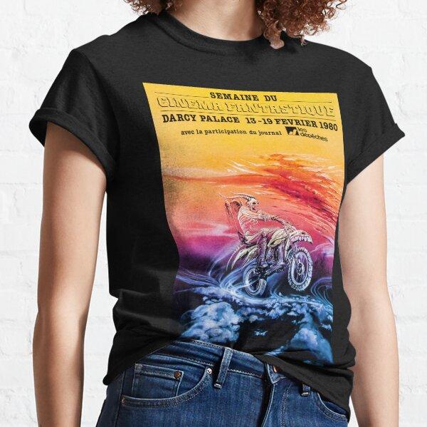 VINTAGE 1980 CINEMA FANTASTIQUE FRENCH FESTIVAL ADVERTISEMENT! Classic T-Shirt