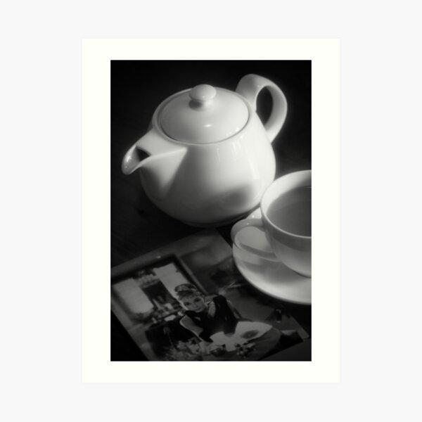 Breakfast with Audrey Art Print