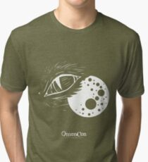 OmenCon 2012 - Genre, Forsaken [light] (artist: Sarah) Tri-blend T-Shirt