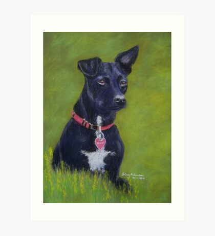 Tarn, the Patterdale Terrier Art Print