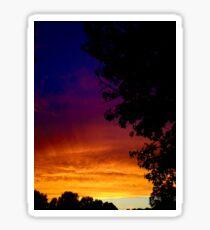 Sunset in South Carolina Sticker