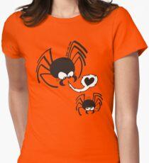 Dangerous Spider Love Women's Fitted T-Shirt