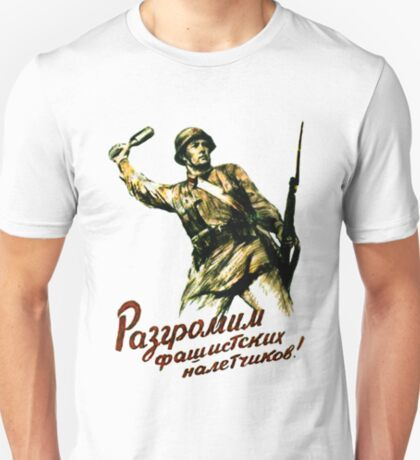 World War II Poster - Soviet  T-Shirt