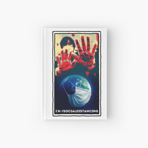 I'm Social Distancing  Hardcover Journal