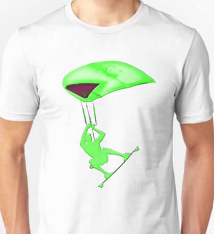 Kiteboarding - Green T-Shirt