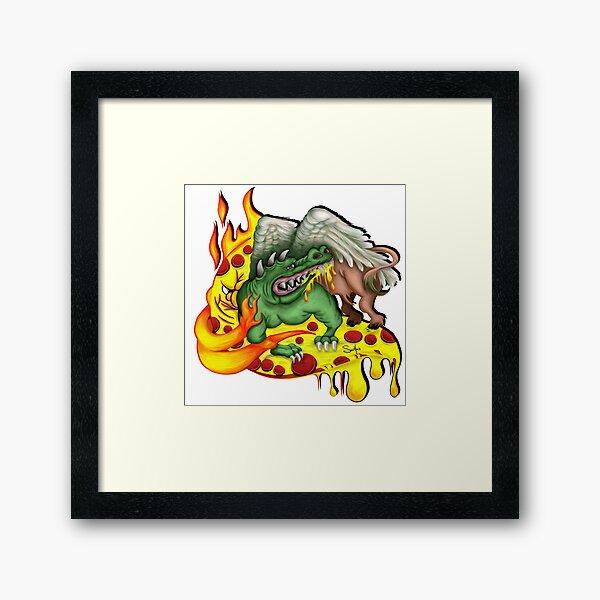 Ragin Cajun Framed Art Print