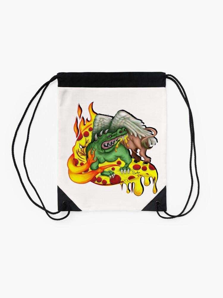 Alternate view of Ragin Cajun Drawstring Bag