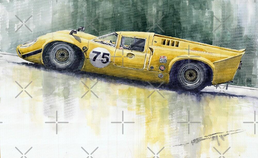 Lola T70 by Yuriy Shevchuk