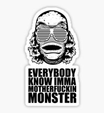 MONSTER Sticker