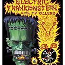Electric Frankenstein Gig Poster by firehazzard