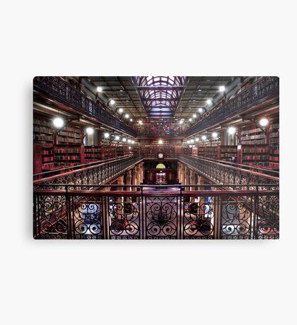 Mortlock Library Metal Print