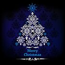 Merry Christmas - Tree Design 02 by cartoon