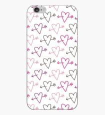pierced hearts iPhone Case