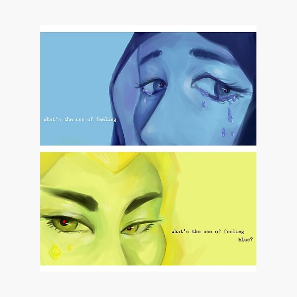 what's the use of feeling | STEVEN UNIVERSE FANART Photographic Print
