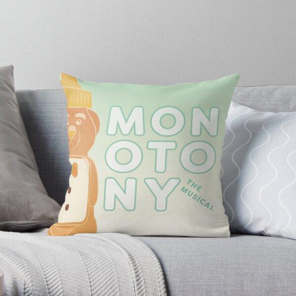 Honey Bear Art Throw Pillow