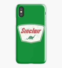Vintage Sinclair logo iPhone Case