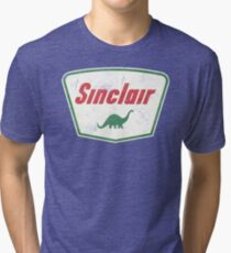 Vintage Sinclair logo Tri-blend T-Shirt
