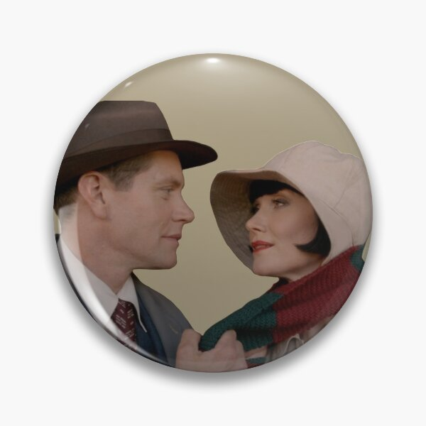 Jack Robinson & The Honourable Miss Fisher Pin